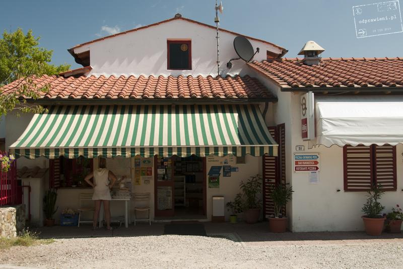 Kempingi w Toskanii Le soline