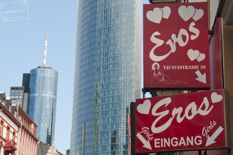 Frankfurt nad Menem dzielnica czerwonych latarni